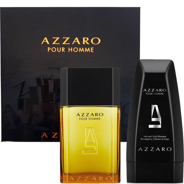 Toilette Shampoo Et Homme Cheveux Azzaro De Coffret Pour Eau 100ml QdBoreCWx