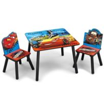 Delta Children - Cars Table enfant et 2 chaises