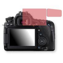 Golebo - Canon Eos 80D Film de protection d'écran - 1x Film de protection anti-regards rouge pour Canon Eos 80D