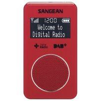 Sangean - Dpr-34 Dab+ rouge