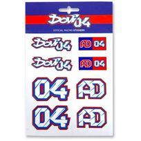 Andrea Dovizioso - Stickers Multicolor Dovizioso 04