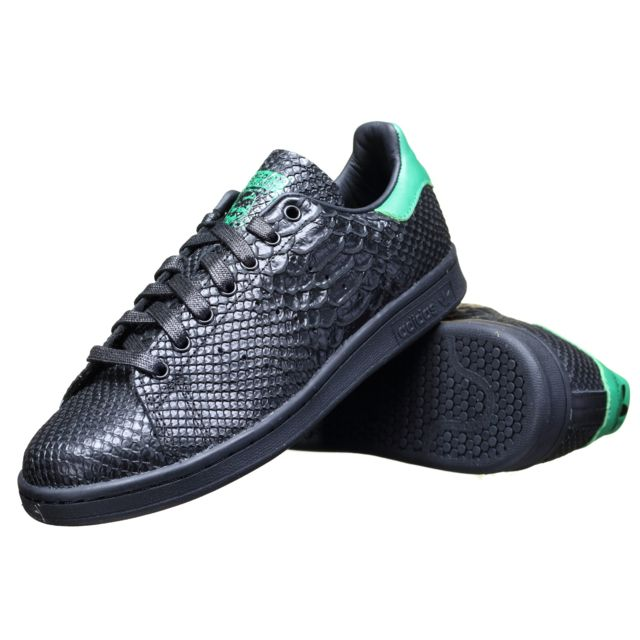 finest selection bdbcc e7381 Adidas - Basket Adidas Stan Smith S80022 NoirVert