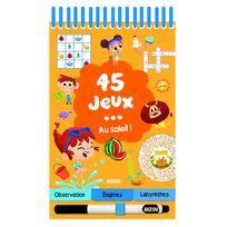 Editions Auzou - Livre de jeux : 45 jeux . au soleil