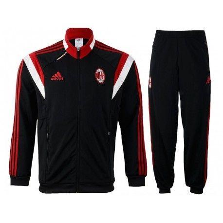 official site 50% price get online Adidas originals - Acm Pes Suit Y Blk - Survêtement Football ...