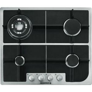 rosi res rosieres rtg 64 sqdin achat plaque de cuisson gaz. Black Bedroom Furniture Sets. Home Design Ideas