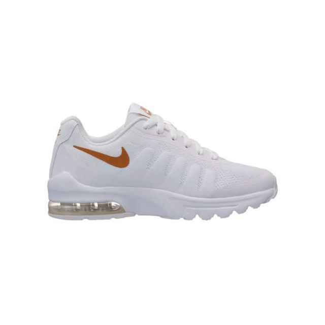 09a51637d43a Nike - Chaussures Air Max Invigor Gs blanc orange enfant - pas cher Achat / Vente  Chaussures fitness - RueDuCommerce