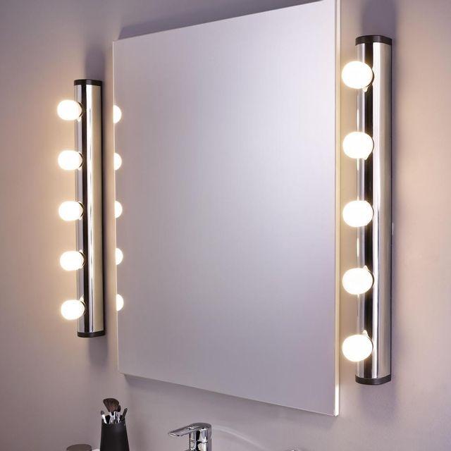 eclairage miroir Inspire - Applique Liz - Applique Miroir - pas cher Achat - Vente Eclairage  tableaux et miroirs - RueDuCommerce
