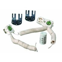 Orbitec - Kit douilles volantes et accessoires pour tubes fluorescents T9