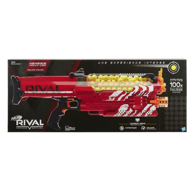 NERF RIVAL NEMESIS ROUGE