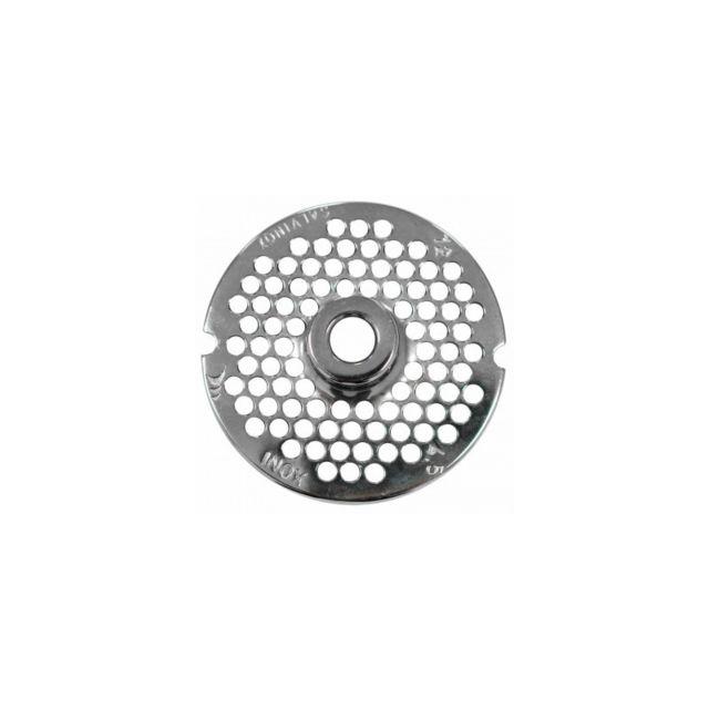 Materiel Chr Pro Grille Perforée pour Hachoir à Viande Série 7212 Maillon Ø 2 à 10 mm - Stalgast - 8 Ø, mm