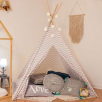 tipi enfant achat tipi enfant pas cher rue du commerce. Black Bedroom Furniture Sets. Home Design Ideas