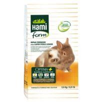 Hami Form - Repas Premium Optima+ Lapin Poils Longs 2,5 Kg