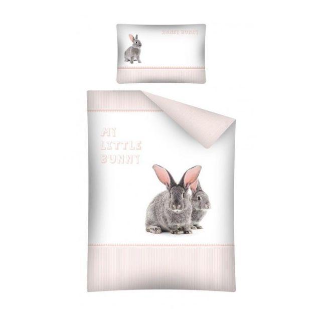 Home - Parure de lit bébé Lapin My Little Bunny Multicolore - 100 - N/A