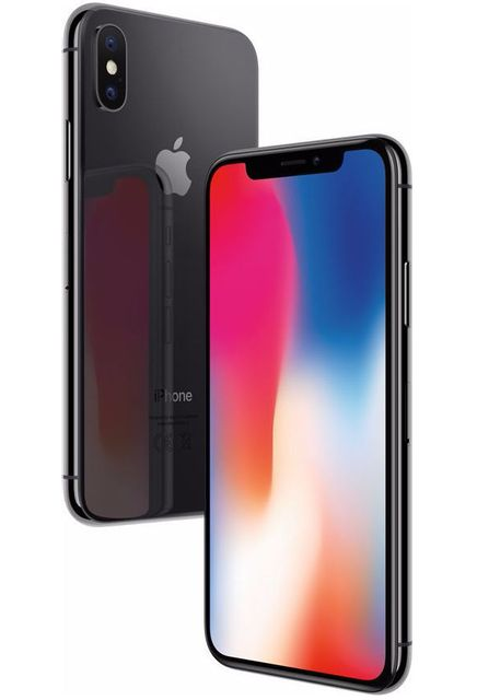 APPLE - iPhone X - 256 Go - MQAF2ZD/A - Gris Sideral