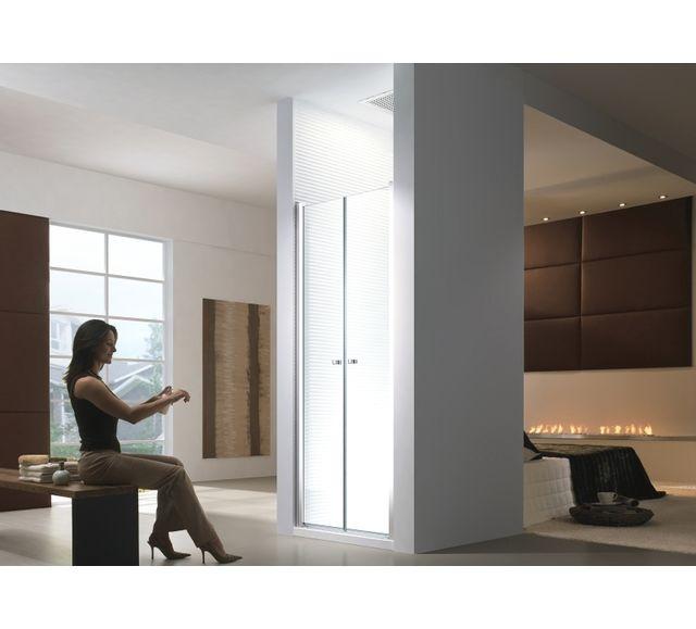 lifestyle proaktiv 75x195cm porte de niche cabine de douche porte battante sans bac de. Black Bedroom Furniture Sets. Home Design Ideas
