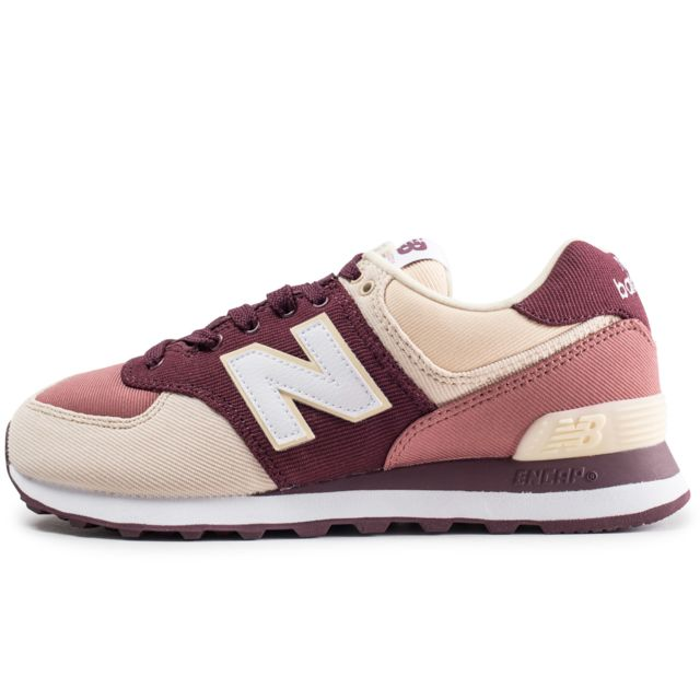 baskets new balance femme bordeaux