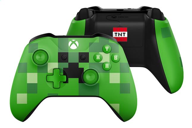 Manette Xbox Edition Minecraft Creeper