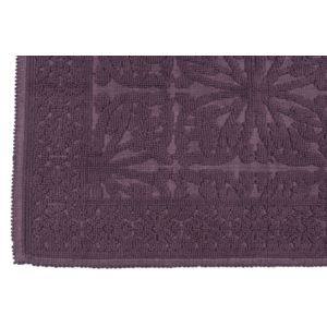 Harmony tapis de bain 100 coton aubergine 60cm x - Tapis de bain aubergine ...