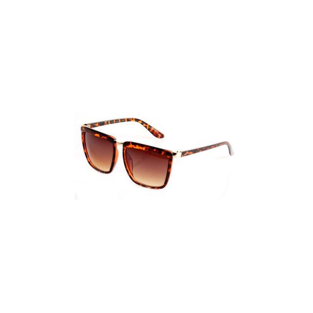 Magic custom - Lunettes De Soleil Carrees Ecaille Cv1914 - pas cher Achat   Vente  Lunettes Sport - RueDuCommerce 178d41f66ab4