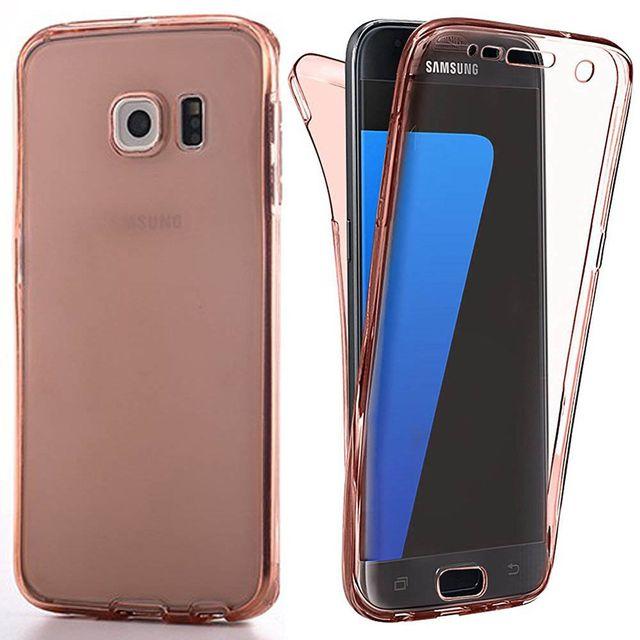 Lapinette - Coque En Gel Intégrale Pour Samsung Galaxy S8 + Film - Rose 9b72f3cd02c3