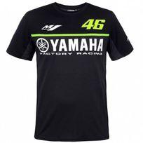Vr 46 - T-shirt Yamaha Monza Black Vr46