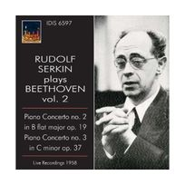 Idis - Concertos pour piano N2 & 3 live 1958