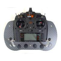 RC Modell Technik - PUPITRE CARBON LOOK RADIO DX6/DX7 V2 et DX8 G2 SPEKTRUM