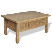 Table basse avec tiroir achat table basse avec tiroir pas cher rue du commerce - Table basse tiroir pas cher ...