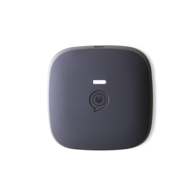 Zens 2 en 1 enceinte portable et chargeur portable noir