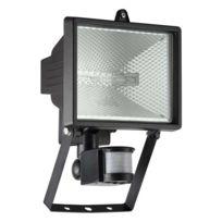 Brilliant - Tanko - Projecteur d'extérieur à fixer avec Détecteur Noir H25cm - Luminaire d'extérieur designé par