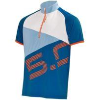 Briko - 5.0 Mtb Jersey Man Bleu Et Bleu Ciel Vélor vélo été