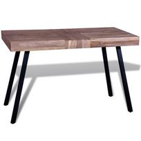 Rocambolesk - Superbe Table en teck recyclé neuf