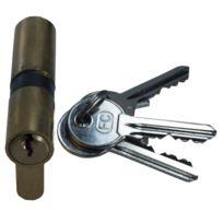 ouvre&deco . Accessoire de porte, Cylindre & serrure, Quincaillerie de la porte Standard - Cylindre européen Standard 30x40mm en laiton poli pour serrure