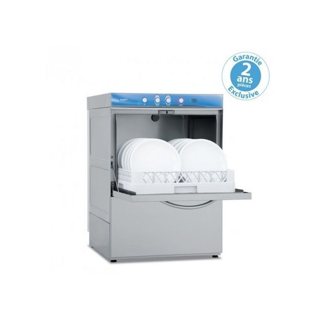 Materiel Chr Pro Lave-vaisselle avec pompe de vidange - affichage digital - panier 50x50 cm - Elettrobar - 400V triphase