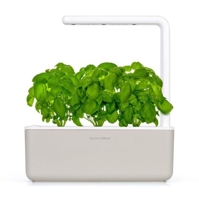 Click & Grow Click&Grow Smart Garden 3, Jardinière avec Led - Beige