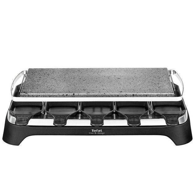 TEFAL Raclette/Pierrade Inox & Design PR4578