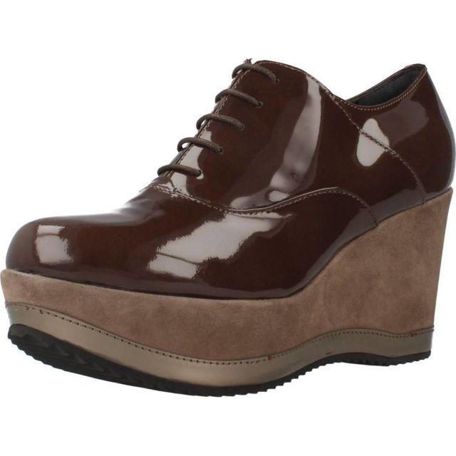 Bruglia Mocassins et chaussures bateau femme 6076, Marron