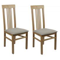 2 Vente unique Lot chaises de Pvc Boisassise Galion QCsdthr