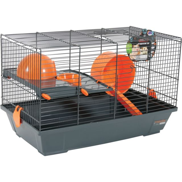 Zolux Cage Indoor 50 Hamster Orange