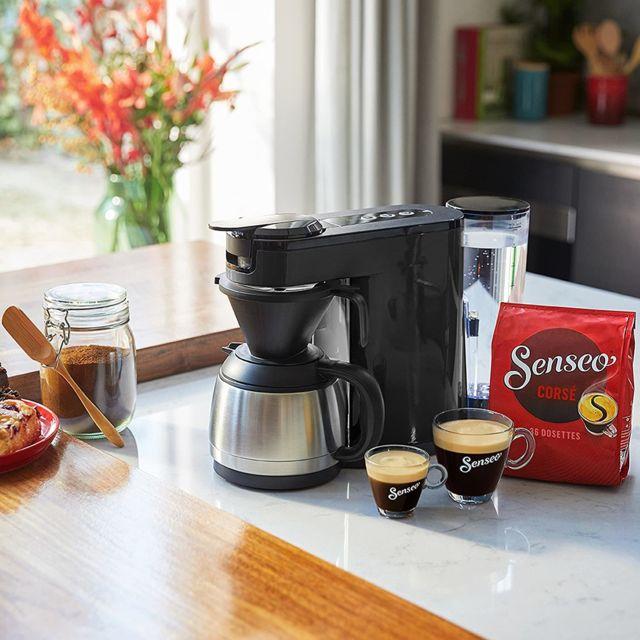 Philips Machine à café Senseo 2 en 1 de 1L 1450W gris noir
