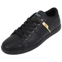 Kappa - Chaussures basses cuir ou synthétique Lamaze noir/dore w Noir 33267