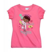Docteur La Peluche - T-shirt à manches courtes Disney Dr la Peluche