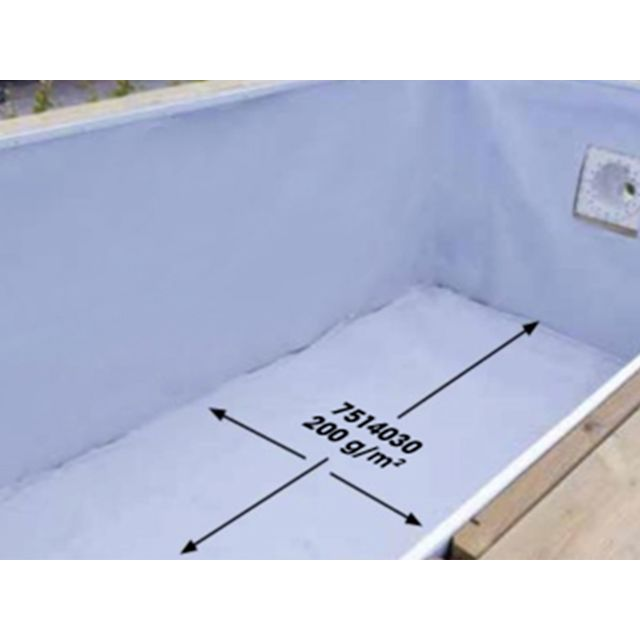 Piscine ubbink prix piscine ubbink for Feutre protection liner piscine
