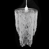Vidaxl - Lustre suspendu en cristal 26,5 x 50 cm