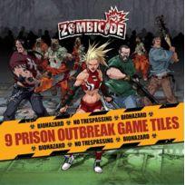 Guillotine Games - Jeux de société - Zombicide - Prison Outbreak Game Tiles