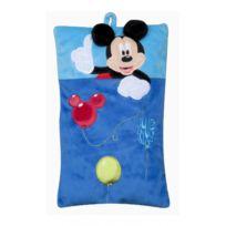 No Name - Coussin en peluche très doux - Range pyjama - Collection Disney Mickey