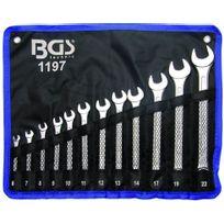 Bgs - Cles Mixtes De 6 à 22 mm - Trousse De 12 Cles