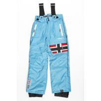 Geographical Norway - Pantalon de Ski Fille Wonderfull Turquoise