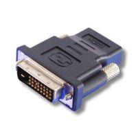 RUE DU COMMERCE - Adaptateur DVI mâle / HDMI femelle