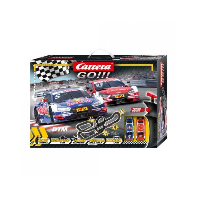 Carrera Circuit voitures Coffret Dtm Master Class - Dès 6 ans - Go!!! 62480